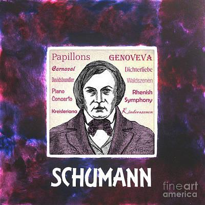 Schumann Art Print by Paul Helm