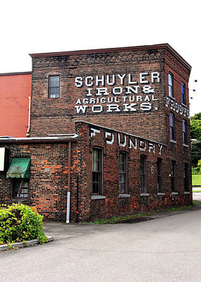 Photograph - Schuyler Iron Building by Trina Ansel