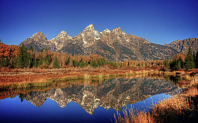 Photograph - Schwabacher Landing Grand Teton National Park by James Hammond