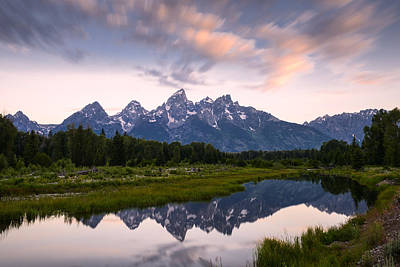 Photograph - Schwabacher Landing In 60 Seconds by Dan Mihai