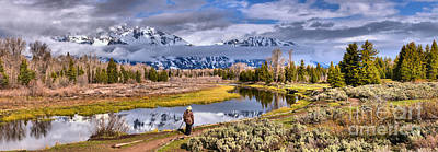 Photograph - Schwabacher Landing Photographer by Adam Jewell
