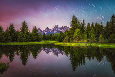 Photograph - Schwabacher Stars by Darren  White