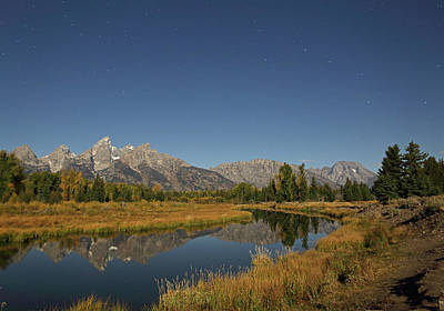 Photograph - Schwabacher's Landing In Moonlight by Jean Clark