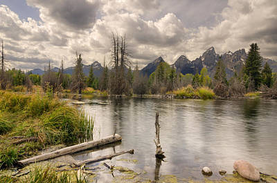 Photograph - Schwabachers Landing by John Gilbert
