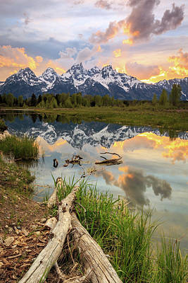Photograph - Schwabachers Landing Sunset. by Johnny Adolphson