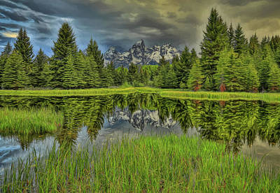 Painting - Schwabachers Reflection by Dan Sproul