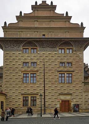 Photograph - Schwarzenbersky Palac. Prague Castle. Prague Spring 2017 by Jouko Lehto