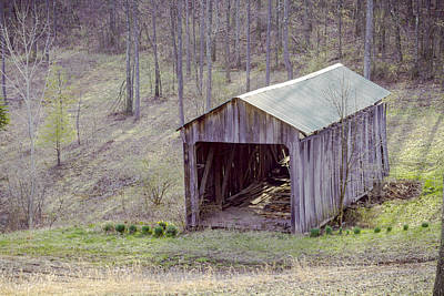 Music Royalty-Free and Rights-Managed Images - Schwenderman Covered Bridge by Jack R Perry