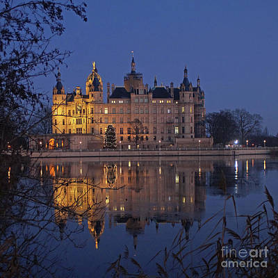 Photograph - Schwerin Castle 3 by Rudi Prott