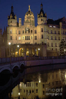 Photograph - Schwerin Castle 4 by Rudi Prott
