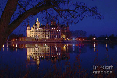 Photograph - Schwerin Castle 5 by Rudi Prott