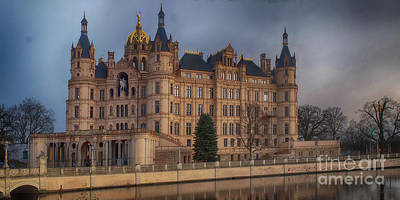 Photograph - Schwerin Castle 6 by Rudi Prott