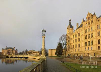 Photograph - Schwerin Castle 7 by Rudi Prott