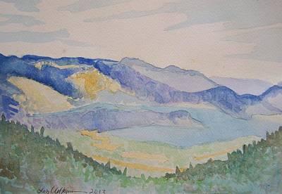 Painting - Schweitzer by Liz Adkinson