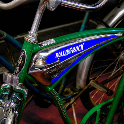 Bicycle Photograph - Schwinn Rolling Rock Bicycle by David Patterson