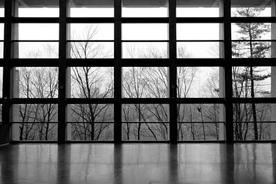 Photograph - Science Center Windows by Valentino Visentini