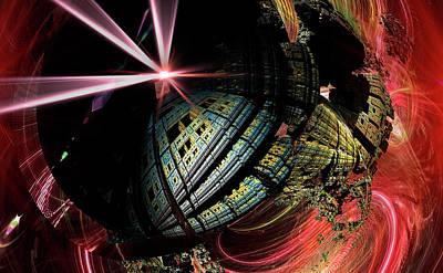Science Fiction1 Art Print by Ivanoel Art