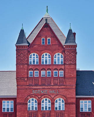 Photograph - Science Hall - Uw Madison - Wisconsin by Steven Ralser