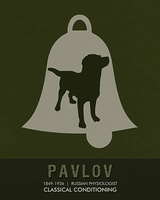 Physiology Mixed Media - Science Posters - Ivan Pavlov - Physiology by Studio Grafiikka