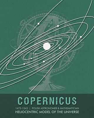 Science Posters - Nicolaus Copernicus - Astronomer, Mathematician Art Print