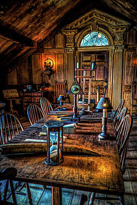 Photograph - Science Room In Beauport by Lilia D