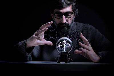 Sorceror Photograph - Scientific Wizardry by Jean Gill