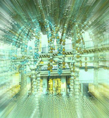 Lourve Digital Art - Scintiller by Lauri Serene