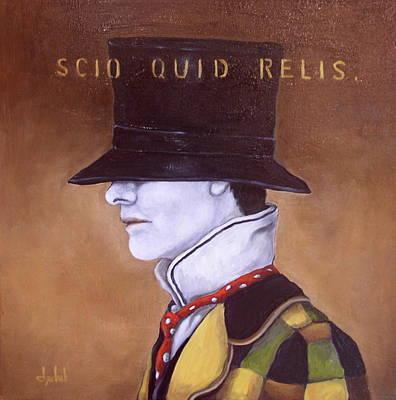 Scio Quid Relis Art Print by Ixchel Amor