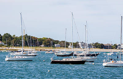 Photograph - Scituate Harbor by Brian MacLean