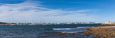 Photograph - Scituate Harbor Panorama 1 by Brian MacLean
