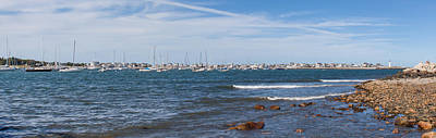 Photograph - Scituate Harbor Panorama 4 by Brian MacLean