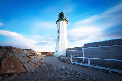Photograph - Scituate Light  by Christopher Villandry