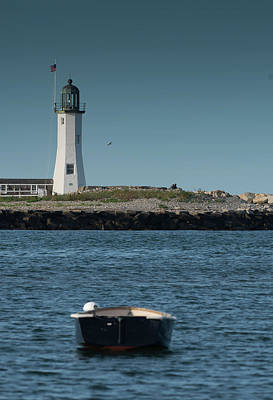 Photograph - Scituate Lighthouse by John Forde