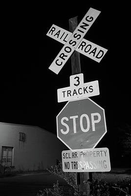 Photograph - Scl Rr Property B W 1 by Joseph C Hinson Photography