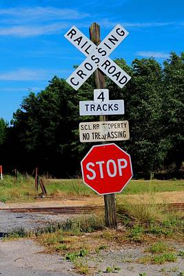 Photograph - Scl Rr Xing by Joseph C Hinson Photography