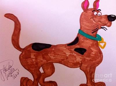 Scooby-doo Art Print