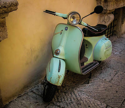 Photograph - Scooter by Elijah Knight