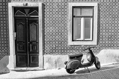 Photograph - Scooter In Lisbon Souvenir by For Ninety One Days