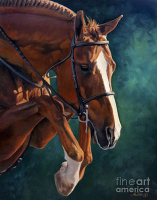 Animals Paintings - Scope by Jeanne Newton Schoborg