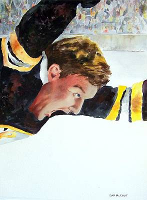 Bobby Orr Painting - Score by Dan McCole