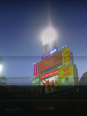Digital Art - Scoreboard by Justin Hiatt