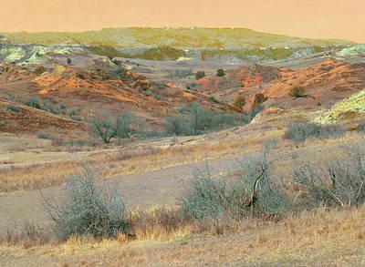 Photograph - Scoria Hills Of West Dakota by Cris Fulton