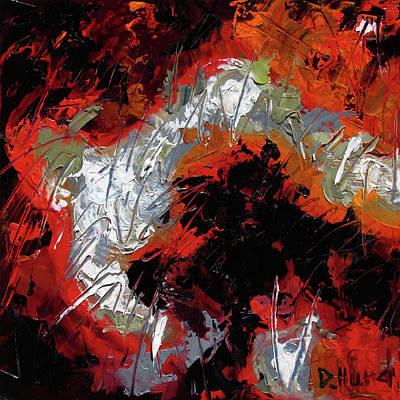 Wall Art - Painting - Scorn by Debra Hurd