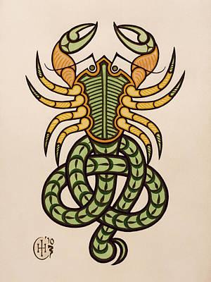 Scorpio Art Print by Ian Herriott