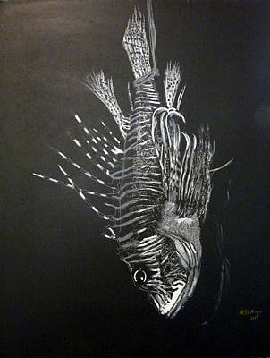 Painting - Scorpion Fish by Richard Le Page