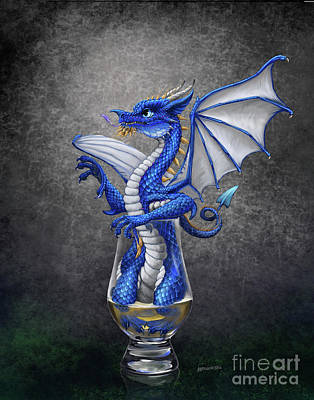 Digital Art - Scotch Dragon by Stanley Morrison