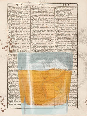 Digital Art - Scotch Glass On Dictionary by Keshava Shukla