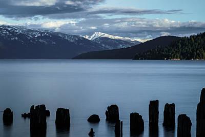 Photograph - Scotchman Peak by Albert Seger