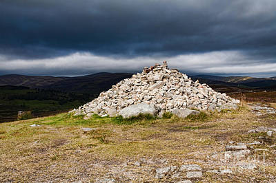 Photograph - Scottish Cairn by Diane Macdonald