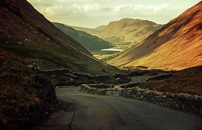 Photograph - Scotland At The Sunset by Jaroslaw Blaminsky